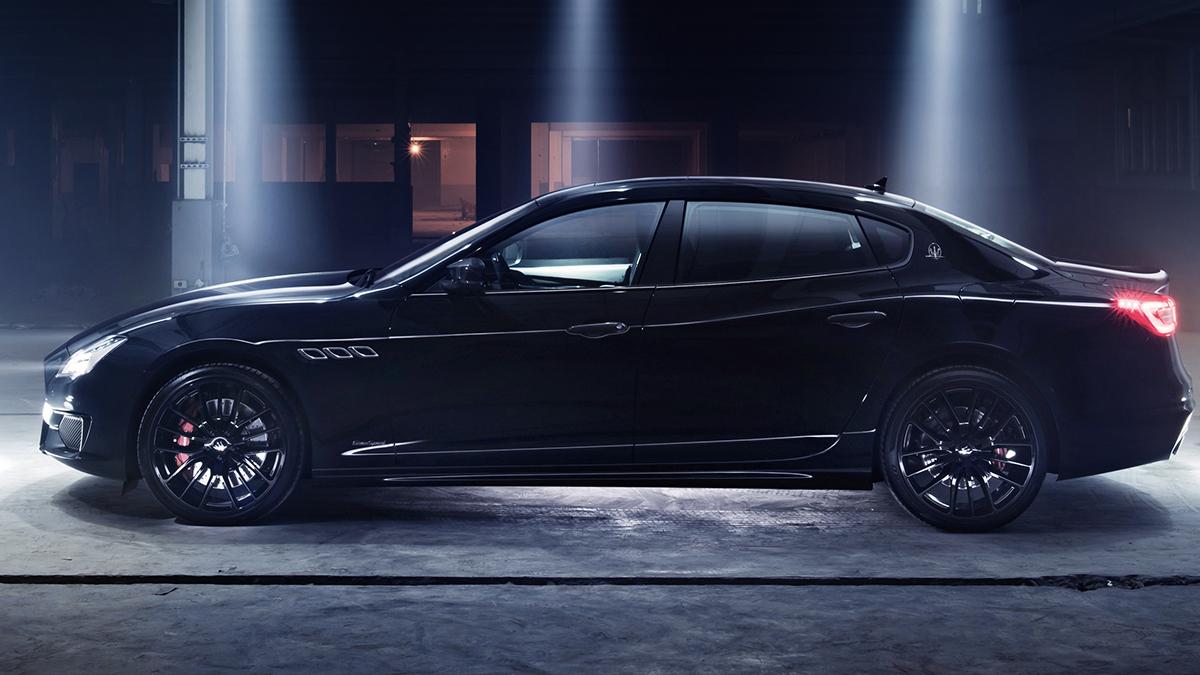 2018 Maserati Quattroporte GTS GranSport Nerissimo Edition
