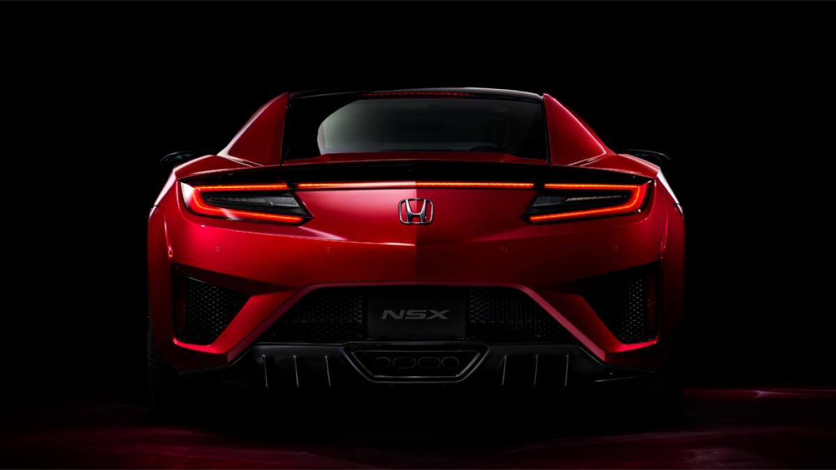 2019 Honda NSX Hybrid