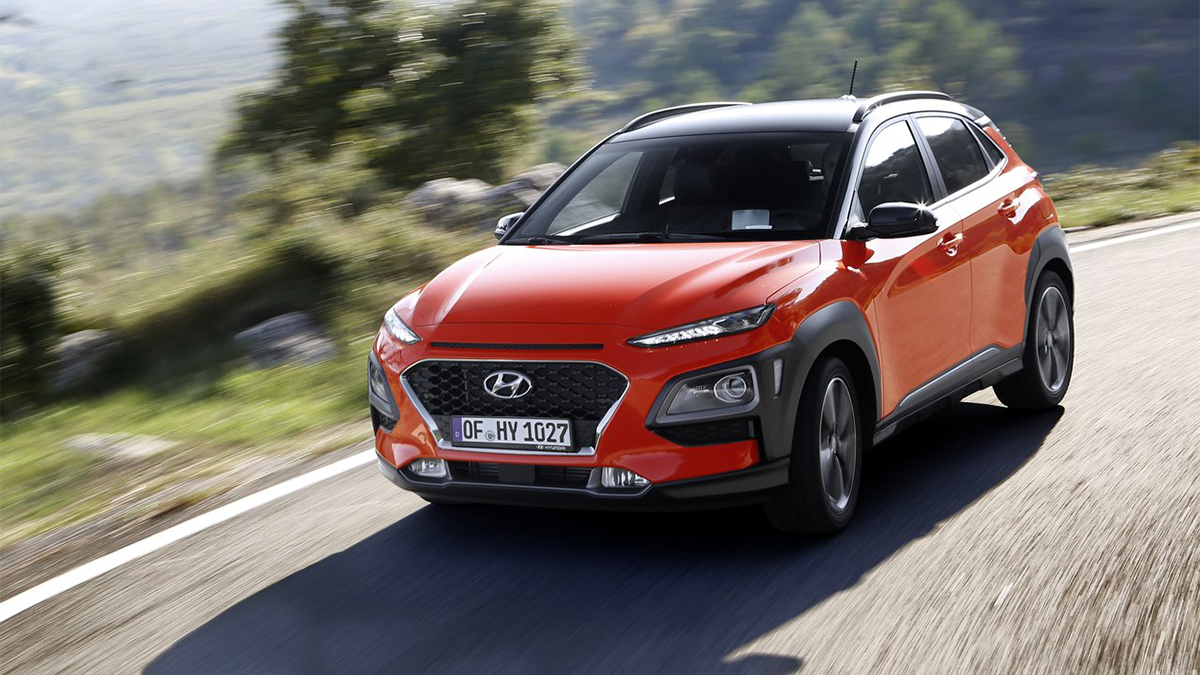 2019 Hyundai Kona 1.6t 2WD勁化型