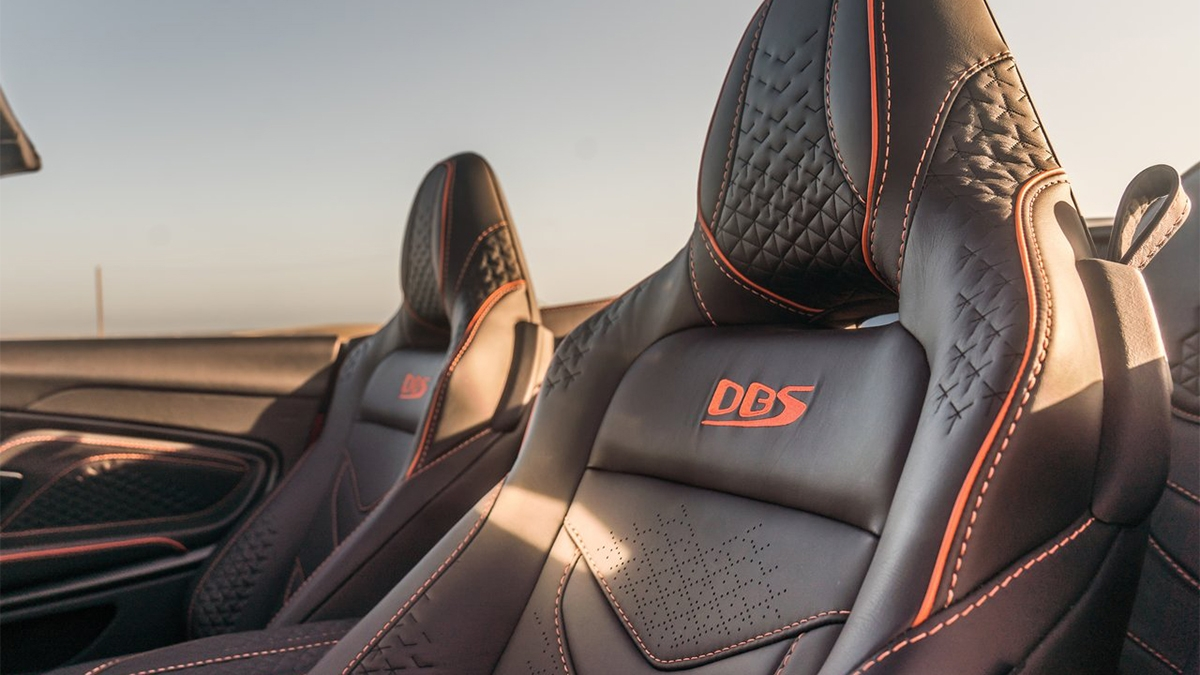 2020 Aston Martin DBS Volante Superleggera 5.2 V12