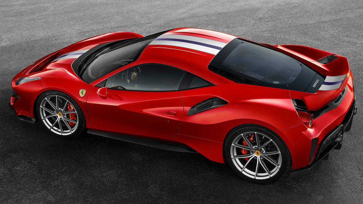 2018 Ferrari 488 Pista V8