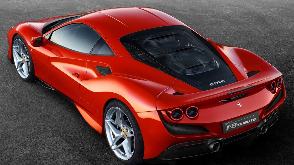 2019 Ferrari F8 Tributo V8