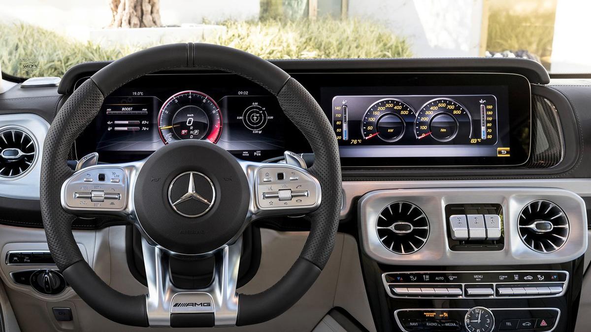 2020 M-Benz G-Class AMG G63