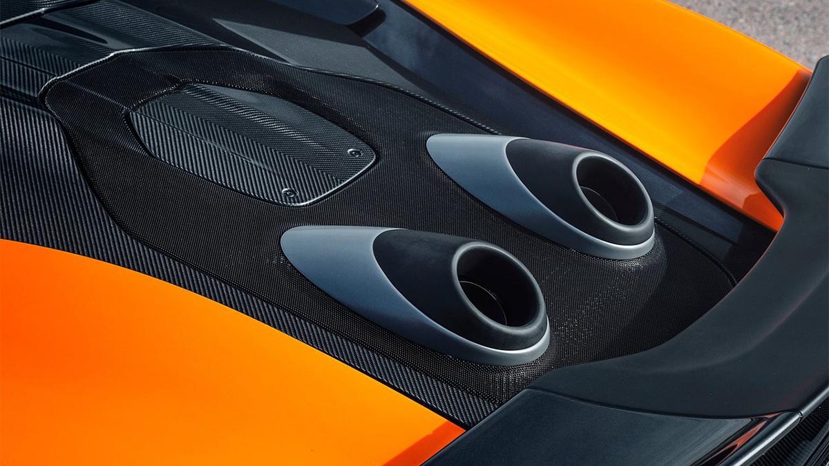 2019 McLaren 600 LT Spider V8