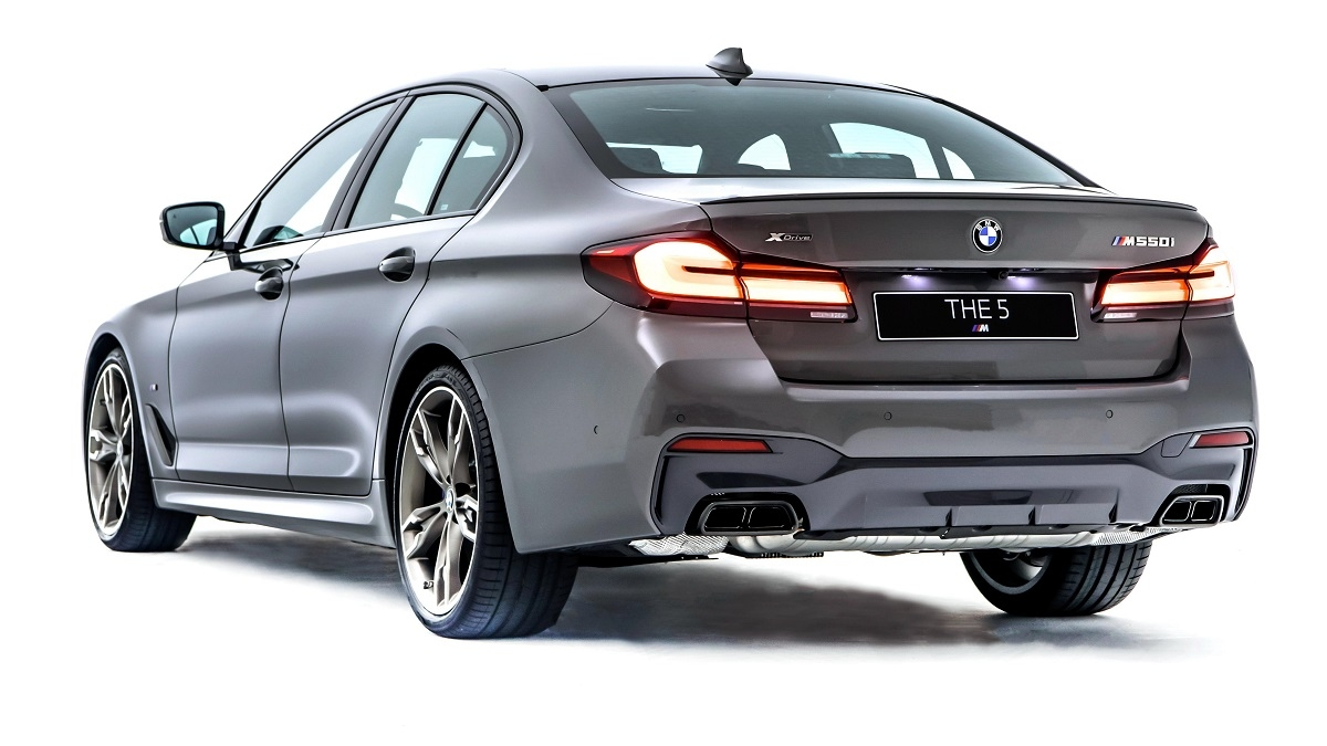 2021 BMW 5-Series Sedan M550i xDrive首發版
