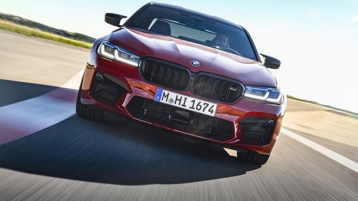 2021 BMW 5-Series Sedan M5