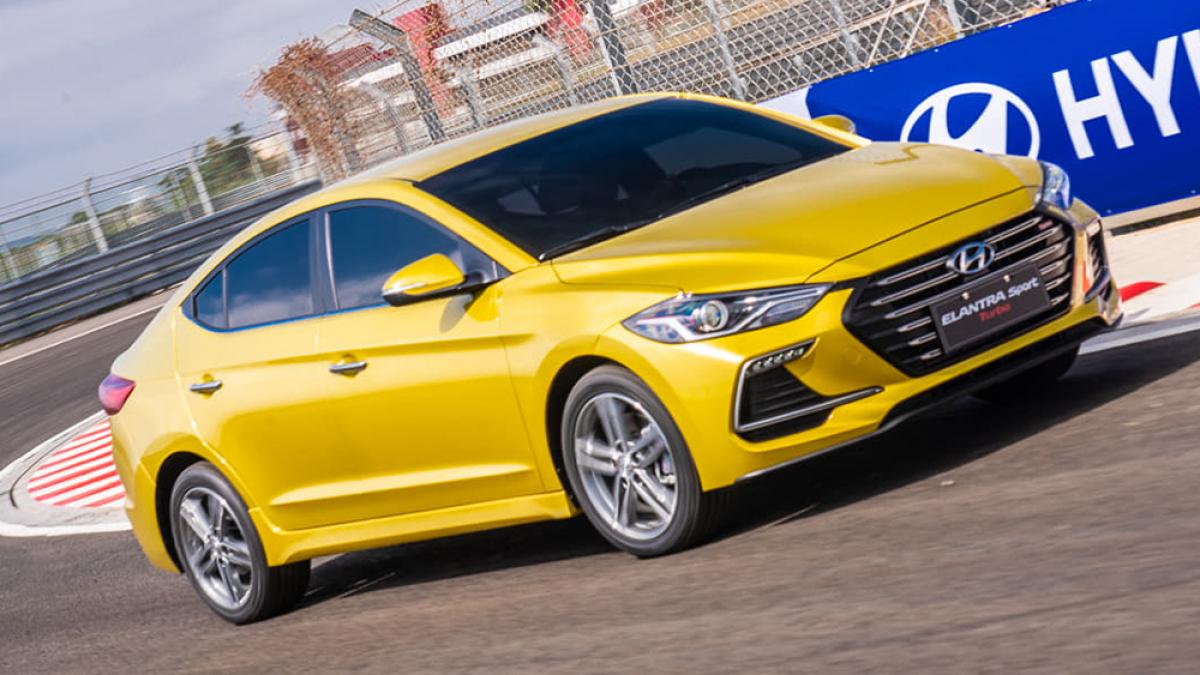 2019 Hyundai Elantra Sport極速型