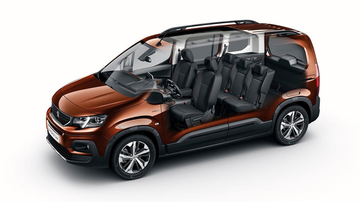 2020 Peugeot Rifter 1.5L BlueHDi Allure MT6