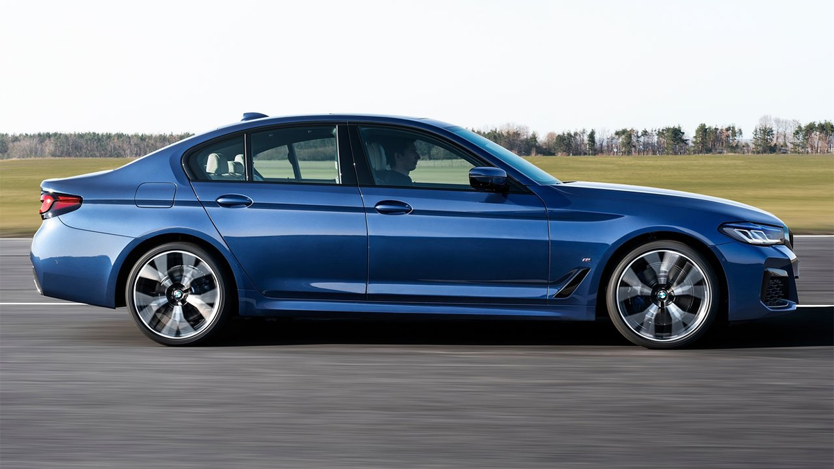2021 BMW 5-Series Sedan 520i M Sport首發版