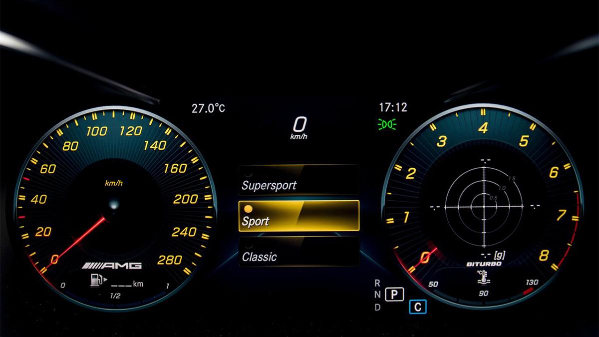 2019 M-Benz C-Class Sedan AMG C43 4MATIC