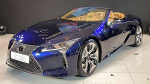 2021 - Lexus LC Convertible