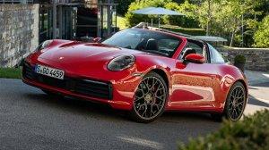 2021 - Porsche 911 Targa