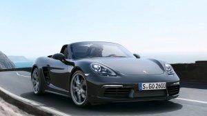 2021 - Porsche Boxster