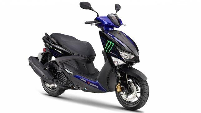 2020 Yamaha Cygnus Gryphus 125 FI Monster Energy Yamaha MotoGP Edition ABS