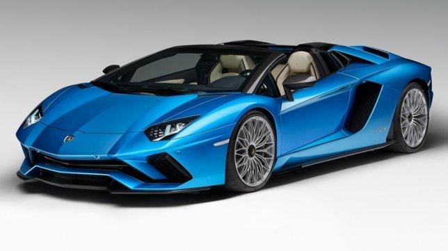 2020 - Lamborghini Aventador S Roadster