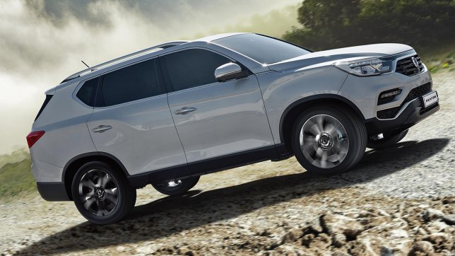 2020 Ssangyong Rexton 2.2柴油4WD豪華型