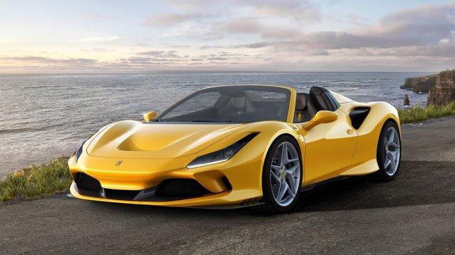 2021 Ferrari F8 Spider V8