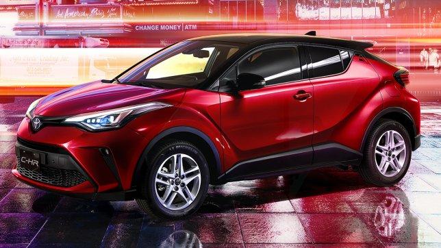 2020 Toyota C-HR 尊爵AWD