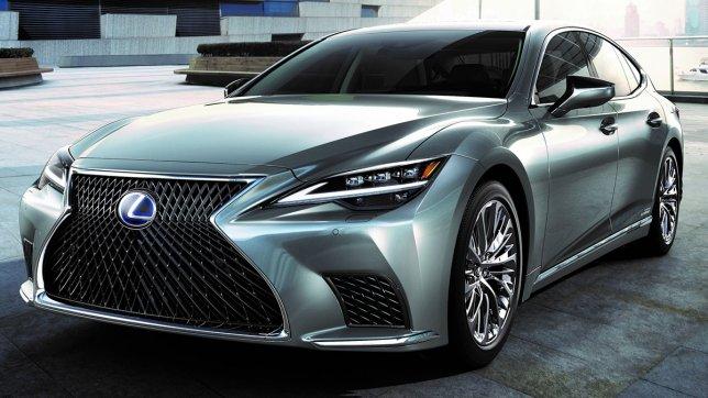2021 Lexus LS 500h旗艦版(Kiriko飾板)