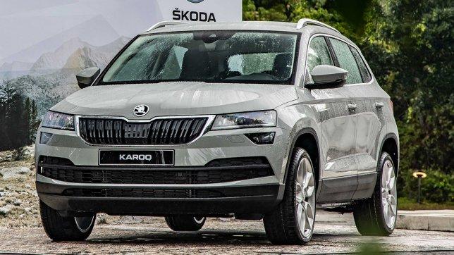 2021 Skoda Karoq 1.5 TSI劍山黑熊版