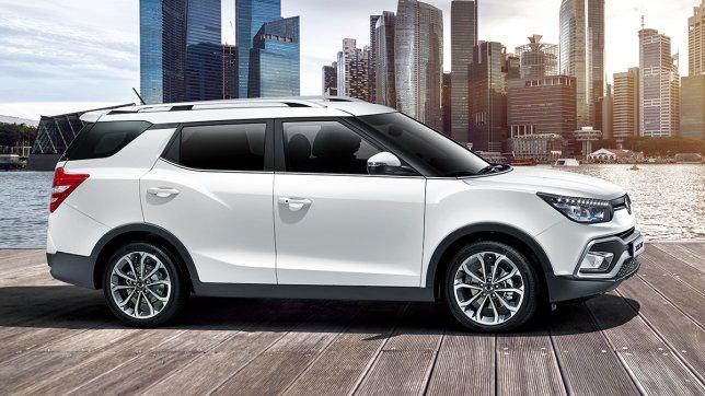 2020 Ssangyong XLV 1.6柴油豪華型AWD