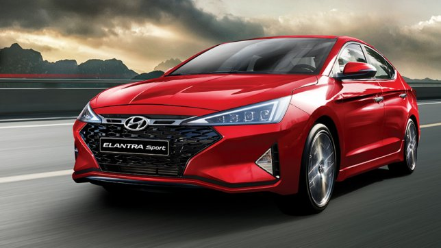 2019 Hyundai Elantra(NEW) Sport極速型