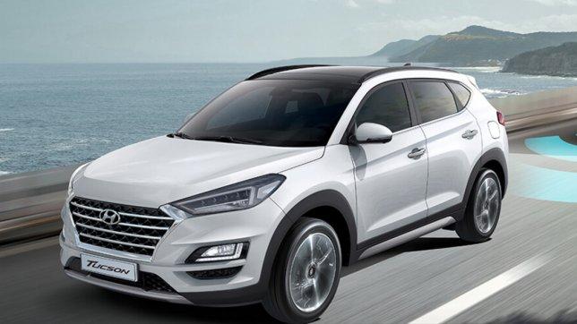2020 Hyundai Tucson 柴油旗艦4WD