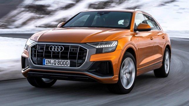 2021 Audi Q8 55 TFSI quattro S-Line
