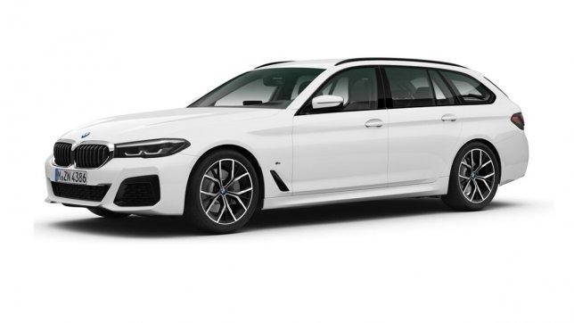 2021 BMW 5-Series Touring 520i M Sport首發版