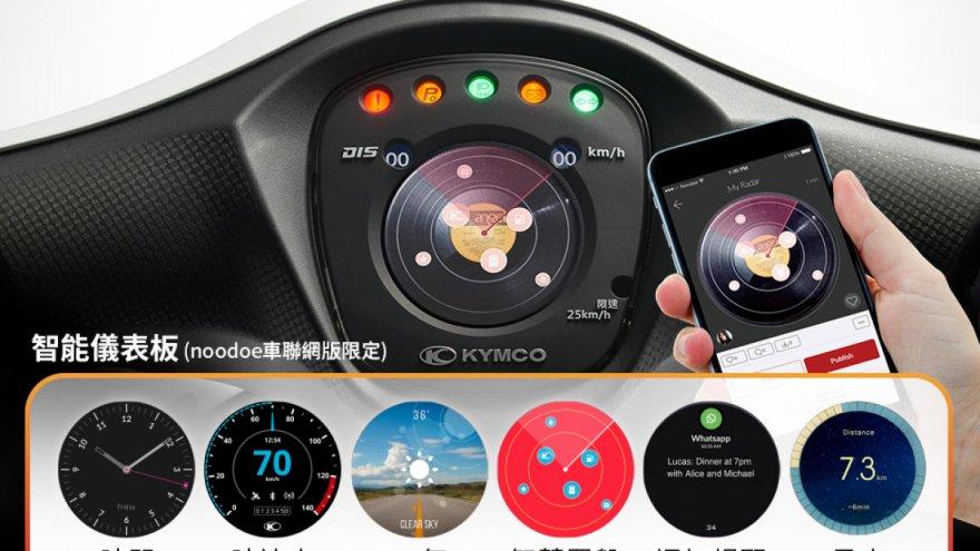 2019 Kymco Cozy Noodoe車聯網版