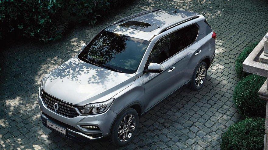 2019 Ssangyong Rexton 2.2柴油4WD豪華型