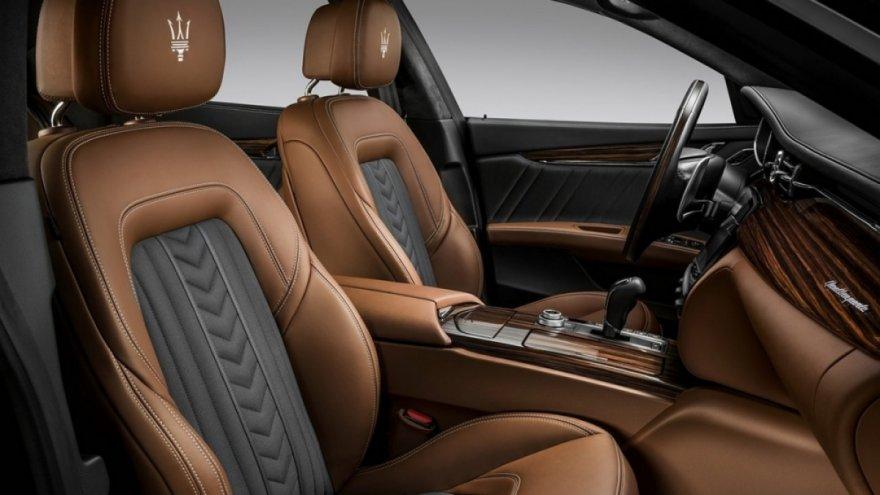 2018 Maserati Quattroporte GranLusso Zegna Edition