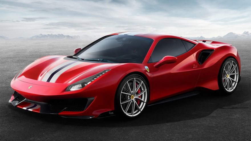 2019 Ferrari 488 Pista V8