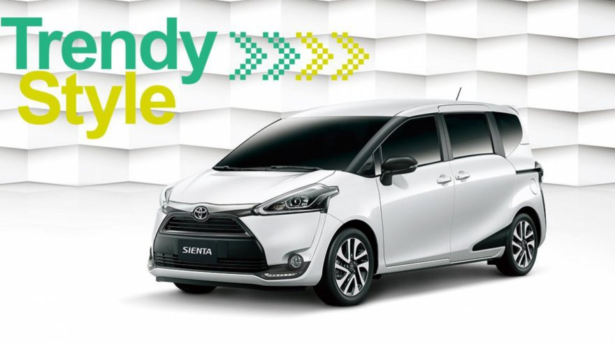 2019 Toyota Sienta 5人座豪華