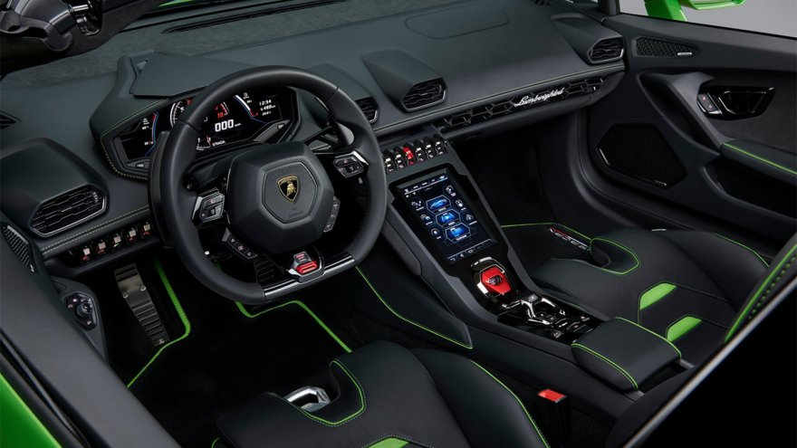 2020 Lamborghini Huracan EVO Spyder V10