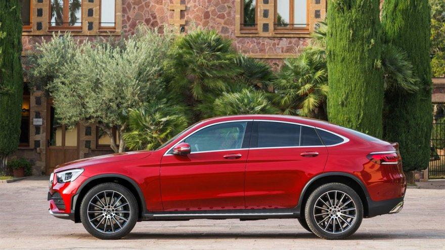 2020 M-Benz GLC Coupe GLC300 4MATIC