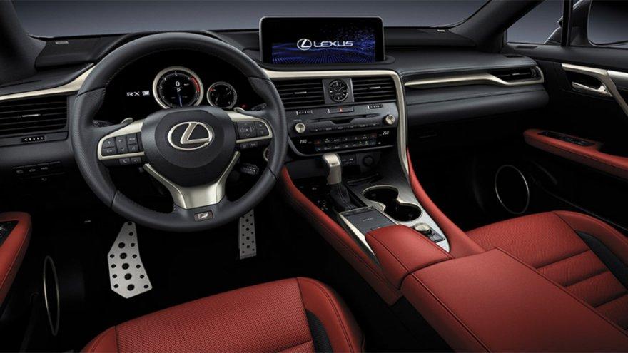 2020 Lexus RX 450h F Sport