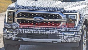 2021 Ford F-150皮卡間諜照曝光 全新進氣格柵設計氣勢再升級