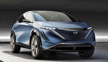 NISSAN將推出品牌第2部電動車Ariya電動跨界休旅,設計師揭露產品細節