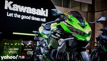 【東京車展】高轉即是正義!Kawasaki全新ZX-25R挑戰待轉區王座!