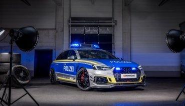 別人家的警車最香了 ABT RS4-R化身執法好夥伴