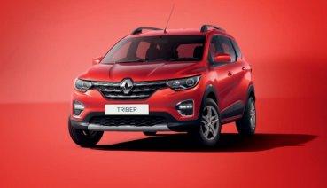 不到4米卻可塞7人!Renault在印度發表全新三排座MPV - Triber