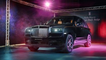 深邃黑裝盡顯神祕!暗夜王者休旅Rolls-Royce Cullinan Black Badge抵台上市