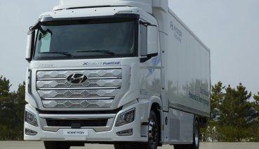 現代推出全球首輛燃料電池重型卡車Xcient Fuel Cell,將前進歐洲市場執行商業任務