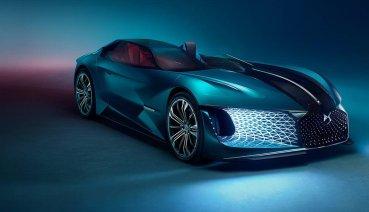 從DS X E-TENSE概念車一窺2035年的電動超跑前衛設計