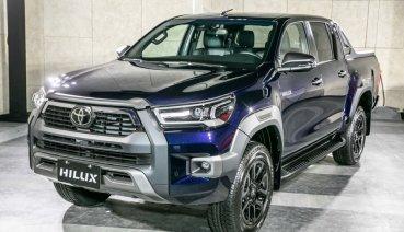 Toyota Hilux換臉添新裝