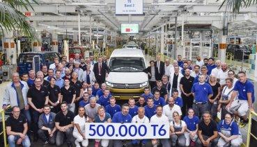 福斯商旅再創里程碑!T6 Transporter車系第50萬輛今年6月出廠
