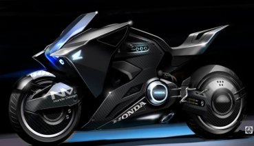 【電影重機】無與倫比的趴車曲線 電影女角專屬的科幻摩托車