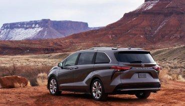 改用油電混合動力 大改款Sienna發表!Toyota Sienna