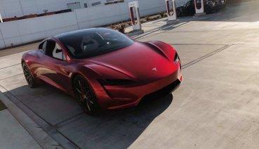 全球最速電動跑車!Tesla新一代Roadster戶外實拍照搶先看